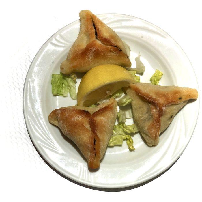 Fatayer 3 pièces (pâte libanaise, épinards)